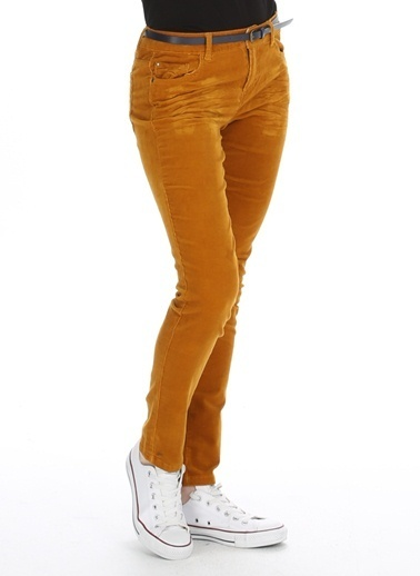 Limon Company Slim Fit Pantolon Hardal